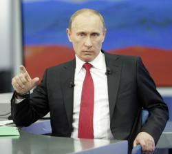 """Путин: РФ готова к """"информационным атакам"""" по сирийской теме"""