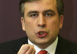 Саакашвили во Львове помолился за погибших украинских и грузинских военных