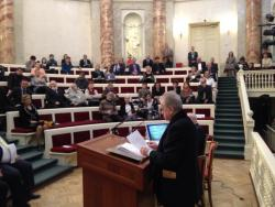 В Государственном Эрмитаже состоялся вечер памяти о научной конференции, посвященной 800-летию великого азербайджанского поэта Низами Гянджеви