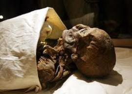Школьники обнаружили мумию возрастом 7 тыс. лет