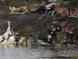 С места аварии частного самолета во «Внукове» изъяли черные ящики