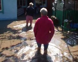 Ливни затопили дом президента Никарагуа