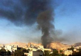 Взрыв в Дамаске: есть жертвы