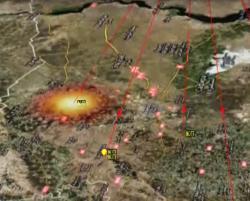 Россия нанесла ракетный удар по Сирии с Каспийского моря