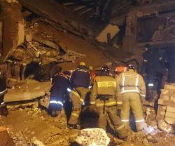 В Хабаровском крае взорвался дом