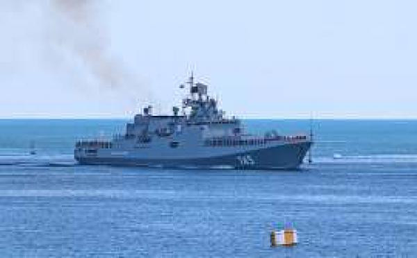 Корабль РФ нанес ракетные удары по целям в Сирии