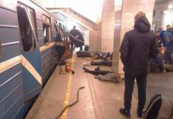 В метро Петербурга прогремел мощный взрыв