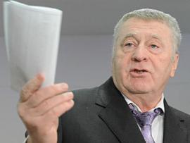 Жириновский: «В Киеве митингуют наркоманы и шпионы»