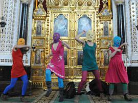 В Томске прошел концерт в поддержку Pussy Riot