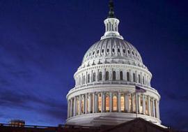 Конгрессмены в третий раз вернули проект бюджета в сенат США