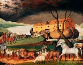 В США начали строить библейский ковчег с рестораном