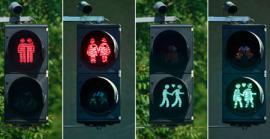В Мюнхене появились гей-светофоры