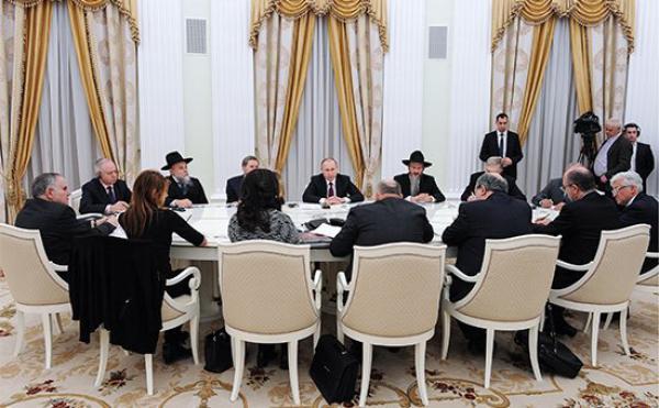 Президент России Владимир Путин  предложил евреям  перебраться в Россию