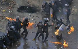 В беспорядках в Виннице пострадали восемь сотрудников милиции