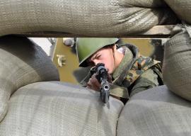 Снайперы Российской военной базы в Армении провели специальные учения
