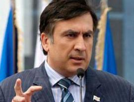 Саакашвили явился в Академию обороны с рогаткой