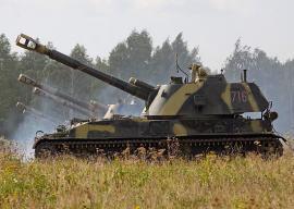 В Армении начались танковые учения российских войск