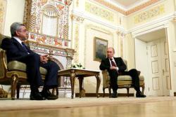 Визит Саргсяна в Москву: вступит ли Армения в Таможенный Союз?