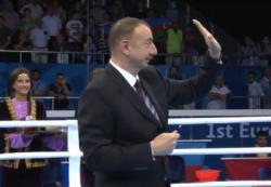Европейские игры в Баку как «звездный час» Ильхама Алиева