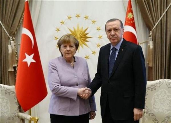 Эрдоган и Меркель поспорили на пресс-конференции