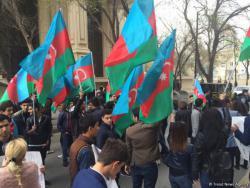 Азербайджанцы готовят акцию протеста у армянского посольства в Берлине