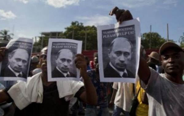 Жители Гаити взбунтовались против США и призвали на помощь Путина