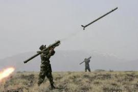 Армянский снаряд разрушил дом в Иране