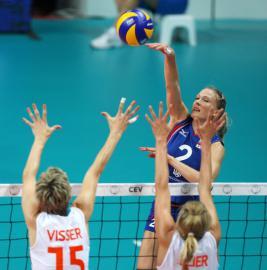 Российские волейболистки отобрались на Олимпиаду