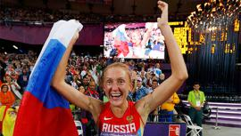 Россия заняла второе место на чемпионате мира по легкой атлетике