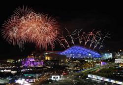 В Сочи стартовала церемония закрытия Олимпийских игр в Сочи.